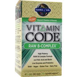 Garden Of Life Vitamin Code - Raw B-Complex 60 vcaps