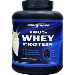 BodyStrong 100% Whey Protein Creamy Vanilla 5 lbs