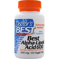 Doctor's Best Best Alpha-Lipoic Acid (600mg) 60 vcaps