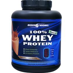 BodyStrong 100% Whey Protein - Natural Chocolate 5 lbs