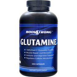 BodyStrong Glutamine (1000mg) 240 caps