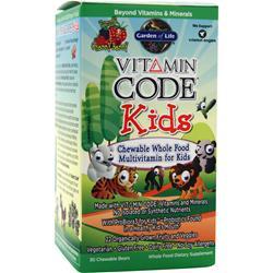 Garden Of Life Vitamin Code - Kids Cherry Berry 30 bears