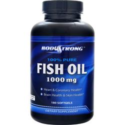 BodyStrong 100% Pure Fish Oil (1000mg) 180 sgels