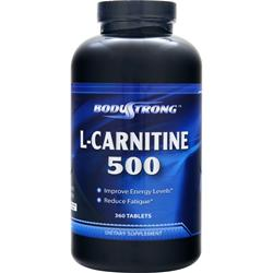 BodyStrong L-Carnitine (500mg) 360 tabs