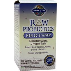 Garden Of Life Raw Probiotics - Men 50 & Wiser 90 vcaps