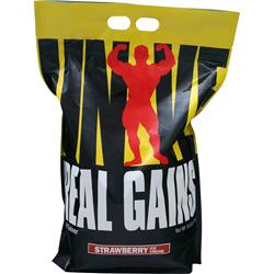 Universal Nutrition Real Gains Strawberry Ice Cream 10.6 lbs