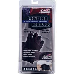 Schiek Sports Lifting Gloves Platinum Series with Wrist Wraps Small 2 glove