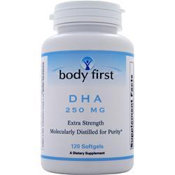 Body First DHA (250mg) 120 sgels