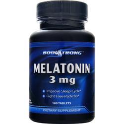 BodyStrong Melatonin (3mg) 180 tabs