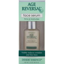 Desert Essence Age Reversal Face Serum 1 oz