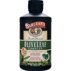 Barlean's Olive Leaf Complex Full Spectrum Liquid Peppermint 16 fl.oz