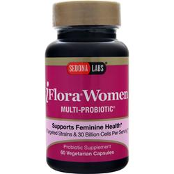Sedona Labs iFlora Women Multi-Probiotic  BEST BY 9/17 60 vcaps