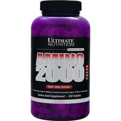 Ultimate Nutrition Amino 2000 Super Whey Formula 330 tabs