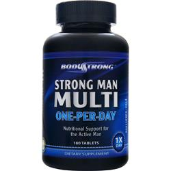 BodyStrong Strong Man Multi - One-Per-Day 180 tabs