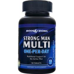 BodyStrong Strong Man Multi - One-Per-Day 90 tabs