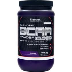 Ultimate Nutrition BCAA Powder 12,000 Grape 457 grams