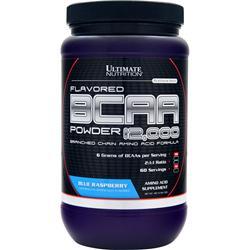 Ultimate Nutrition BCAA Powder 12,000 Blue Raspberry 457 grams