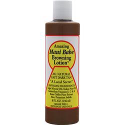 Maui Babe Browning Lotion - All Natural Fast Dark Tan 8 fl.oz