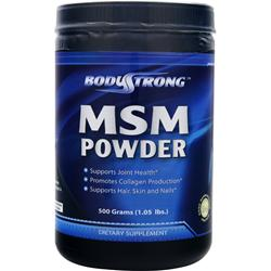 BodyStrong MSM Powder 500 grams