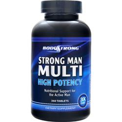 BodyStrong Strong Man Multi - High Potency 360 tabs