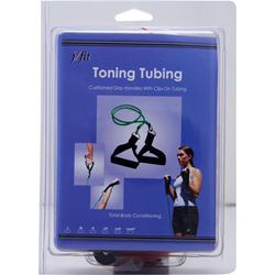 J-Fit Toning Tubing - Cushioned Grip Handles Red XXX Heavy 1 unit