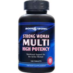 BodyStrong Strong Woman Multi - High Potency 180 tabs