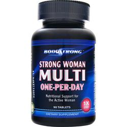 BodyStrong Strong Woman Multi - One-Per-Day 90 tabs