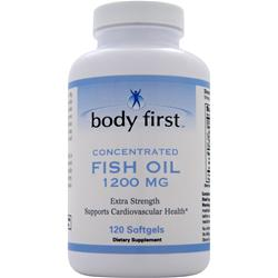 Body First Fish Oil (1200mg) 120 sgels