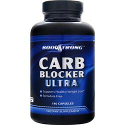 BodyStrong Carb Blocker Ultra 180 caps
