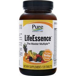 Pure Essence LifeEssence - Energizing Whole Food Multiple 120 tabs