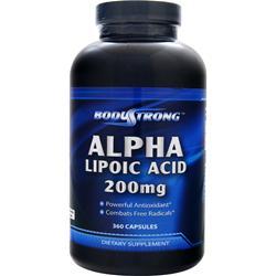 BodyStrong Alpha Lipoic Acid (200mg) 360 caps