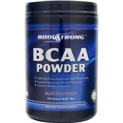 BodyStrong BCAA Powder Blue Raspberry 395 grams