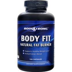 BodyStrong Body Fit - Natural Fat Burner 180 caps