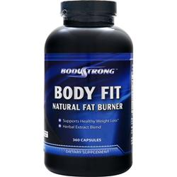 BodyStrong Body Fit - Natural Fat Burner 360 caps