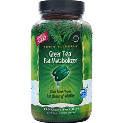 Irwin Naturals Green Tea Fat Metabolizer 150 sgels