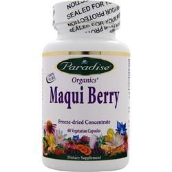 Paradise Herbs Maqui Berry 60 vcaps