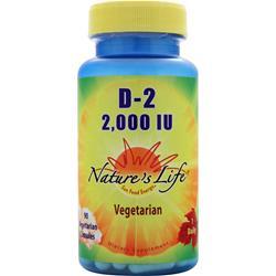 Nature's Life D-2 (2,000IU) 90 vcaps