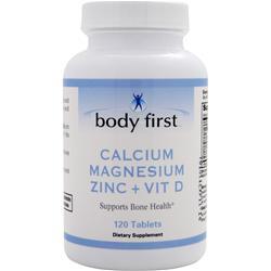 Body First Calcium Magnesium Zinc + Vit D 120 tabs