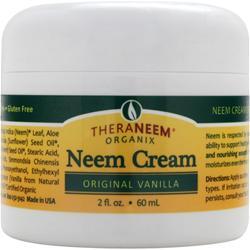 Theraneem Organix Neem Cream Original Vanilla 2 fl.oz