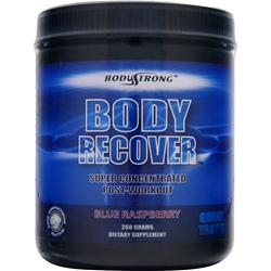 BodyStrong Body Recover - Super Concentrated Post-Workout Blue Raspberry 260 grams