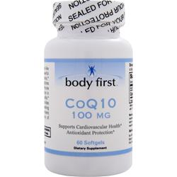 Body First CoQ10 (100mg) 60 sgels
