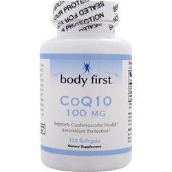 Body First CoQ10 (100mg) 120 sgels