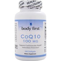 Body First CoQ10 (100mg) 240 sgels