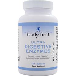 Body First Ultra Digestive Enzymes 120 caps