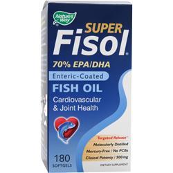Nature's Way Super Fisol - Fish Oil 180 sgels