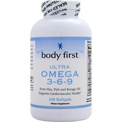Body First Ultra Omega 3-6-9 240 sgels