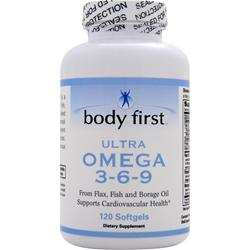 Body First Ultra Omega 3-6-9 120 sgels