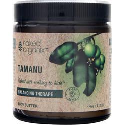 Naked Organix Body Butter Balancing Therape Tamanu 4 oz