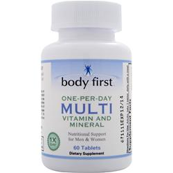 Body First One-Per-Day Multi - Vitamin and Mineral 60 tabs