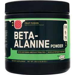 Optimum Nutrition Beta-Alanine Powder Fruit Fusion 263 grams